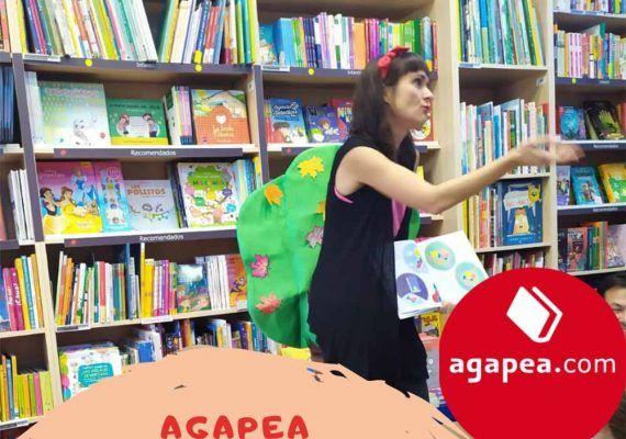 Cuentacuentos gratis para niños este enero en Agapea CAC Málaga y Teatinos