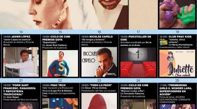 Cuentacuentos, firma de libros y talleres infantiles con Fnac Málaga en enero