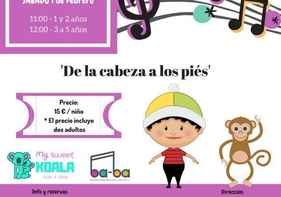 Cuentacuentos musical para bebés y niños en el Rincón de la Victoria