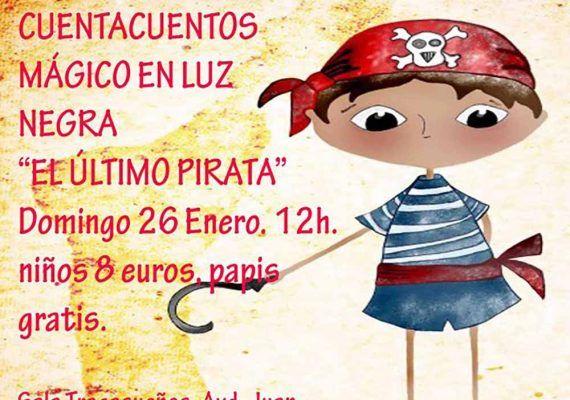 Cuentacuentos 'El último pirata' para niños en la sala Tragasueños de Málaga