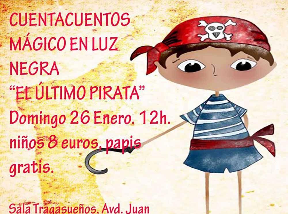Cuentacuentos 'El último pirata' para…
