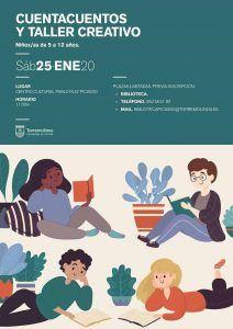 Cuentacuentos y taller gratis para niños con La Máquina Imaginaria en Torremolinos