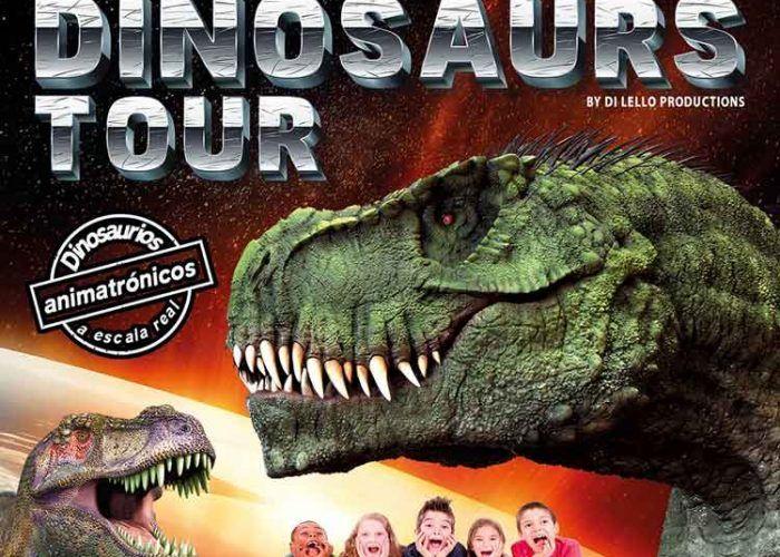La exposición para niños 'Dinosaurs Tour' llega al Recinto Ferial de Málaga