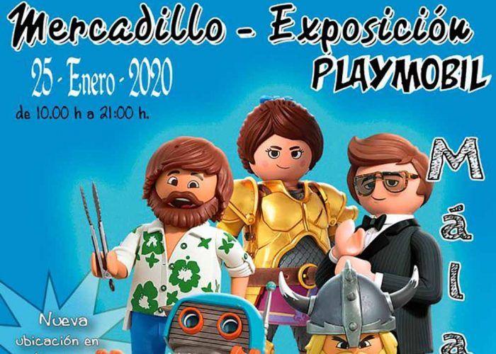 Exposición gratis y mercadillo de Playmobil para niños y familias en Málaga Factory