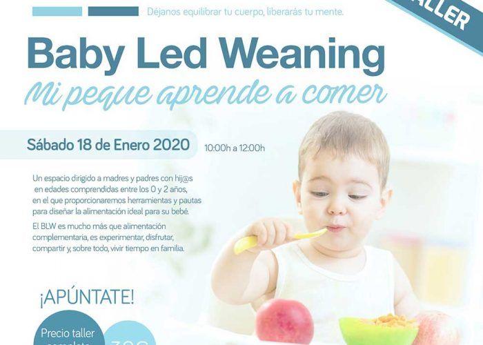 Taller para madres y padres sobre BLW en FisioAzul Nerja (Málaga)