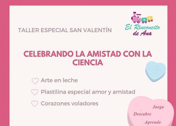 Taller de ciencia especial San Valentín para niños en Alhaurín de la Torre