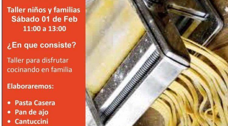 Taller de cocina italiana para niños con Cooking Málaga