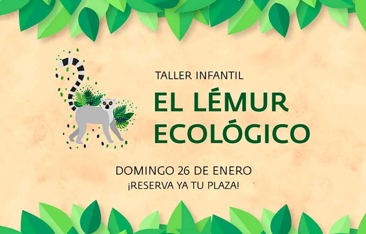 Taller para niños 'El lémur…