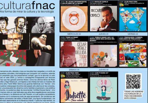 Taller de manualidades y cuentacuentos para niños con Fnac Marbella en enero