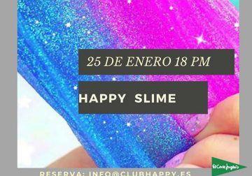 Taller de slime para niños en Club Happy Málaga