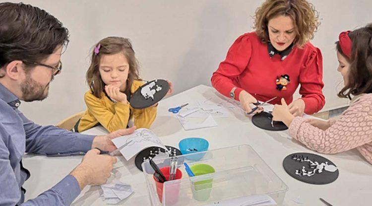 Talleres para niños en enero en el Museo Picasso de Málaga