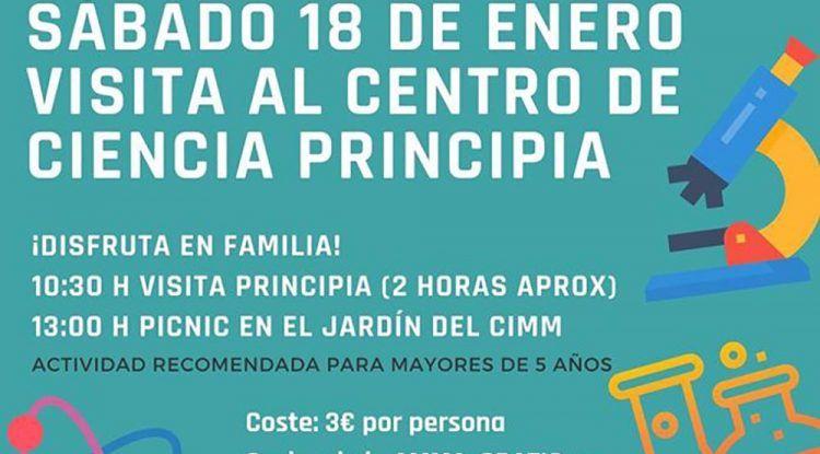 Visita con niños el Centro de Ciencia Principia de Málaga