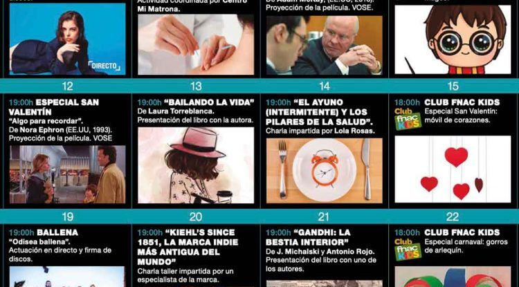 Talleres infantiles y especial de Harry Potter con Fnac Málaga en febrero