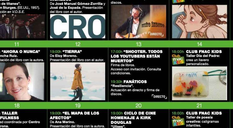 Talleres y actividades gratis para niños en marzo en Fnac Málaga