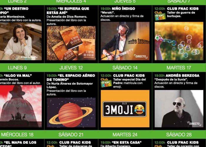 Talleres y actividades gratis para niños en marzo en Fnac Marbella