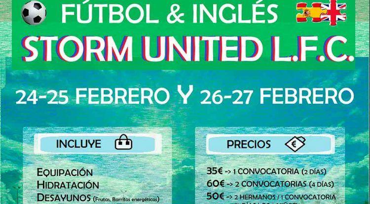 Campamento de Semana Blanca: fútbol en inglés para niños con Storm United en Málaga