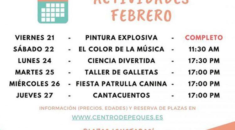 Actividades para niños esta Semana Blanca en el Centro Depeques de Fuengirola