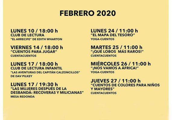 Actividades gratis para niños este febrero en la Biblioteca Cánovas del Castillo de Málaga