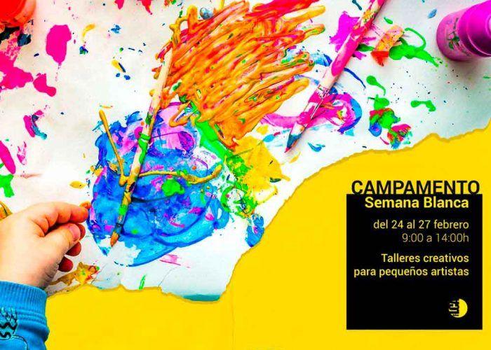 Campamento para niños sobre arte en Semana Blanca con La Casa Amarilla