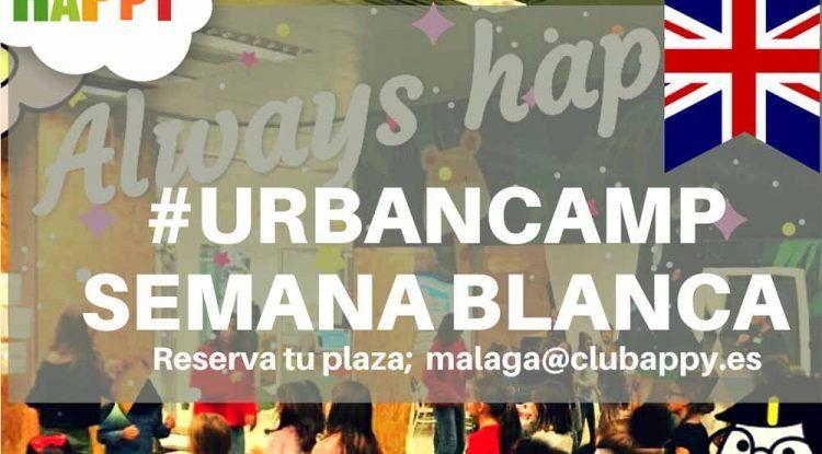 Campamento de Semana Blanca con juegos para niños en Club Happy Málaga