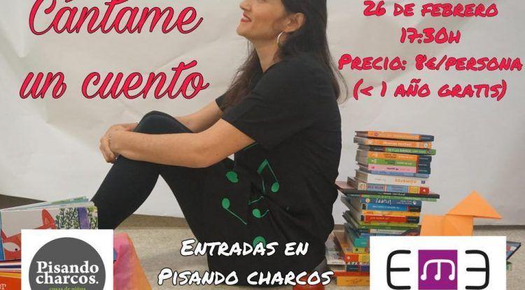 Cuentacuentos musical para niños en Semana Blanca en Pisando Charcos Málaga