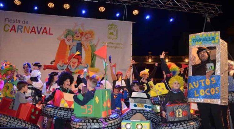 Carnaval con actividades gratis para niños en Fuengirola