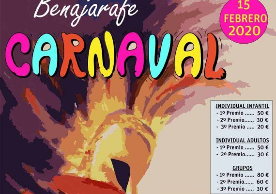 Carnaval con actividades para niños en Benajarafe y Chilches (Vélez-Málaga)