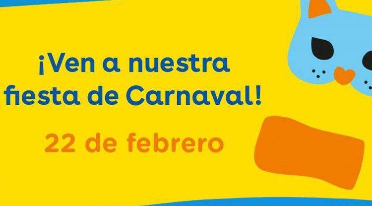 Fiesta gratis para niños de Carnaval en Toys 'R' Us Málaga