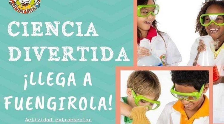 Nuevo taller de Ciencia Divertida en el Centro Depeques de Fuengirola