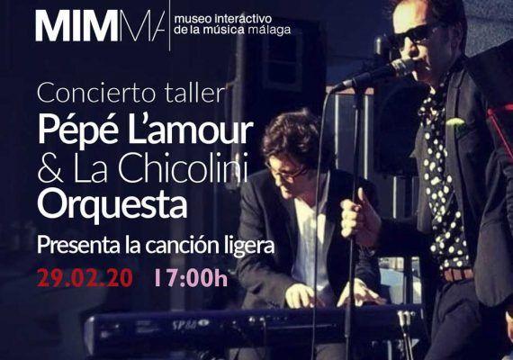 Concierto didáctico gratis para niños en MIMMA Málaga esta Semana Blanca