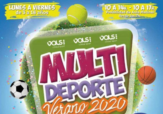 Descuento del 30% si reservas en febrero el campamento de verano para niños de Vals Sport Málaga