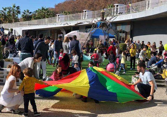Domingos de juegos para niños en el Muelle Uno