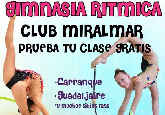 Extraescolares de gimnasia rítmica para niños y niñas con el Club Miralmar