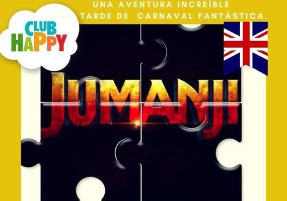 Fiesta de Carnaval para niños sobre 'Jumanji' en Club Happy Málaga