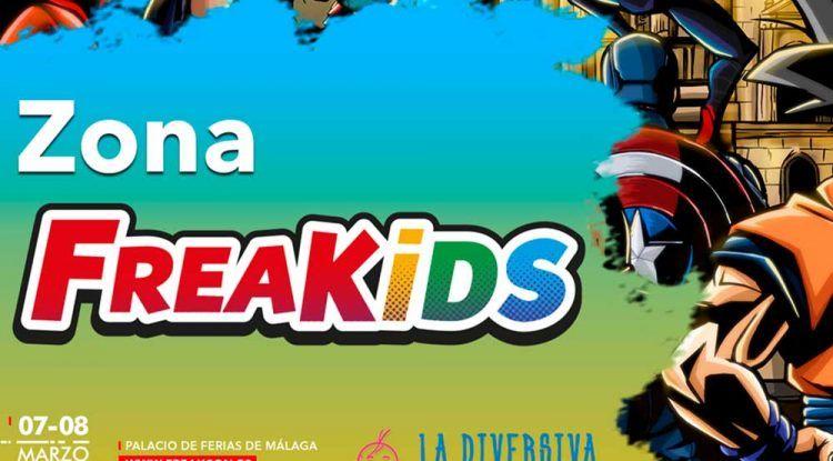 FreakCon y La Diversiva se unen para ofrecer una zona con actividades para niños