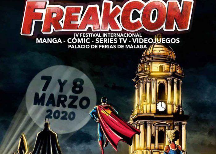 FreakCon 2020: manga, cómic, series y videojuegos para niños y jóvenes en Málaga