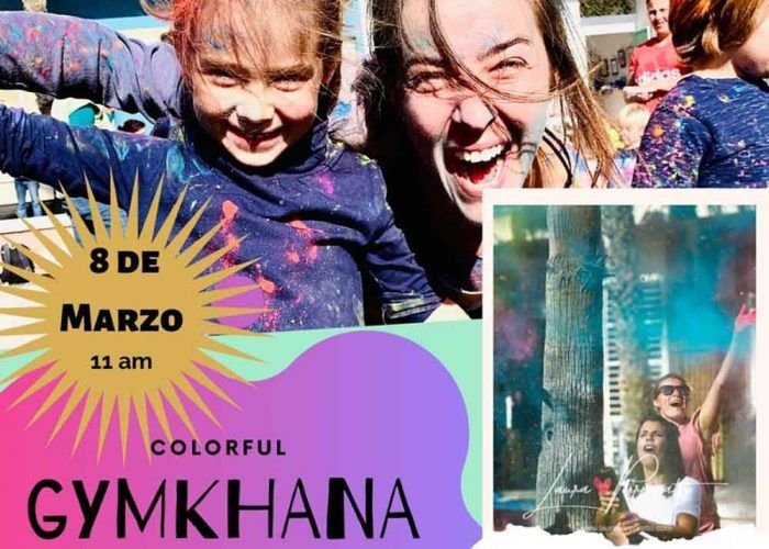 Gymkana de colores para toda la familia en Rincón de la Victoria