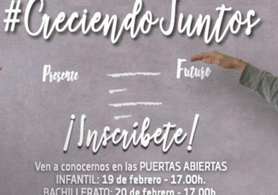 Jornada de Puertas Abiertas en Salesianos Málaga para Infantil y Bachillerato