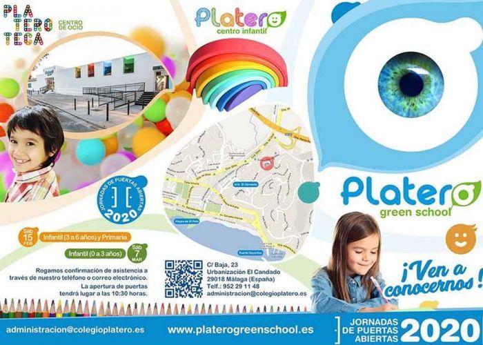 Jornada de puertas abiertas para el primer ciclo de infantil en el colegio Platero (Málaga)