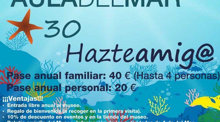 Descubre el pase anual del Aula del Mar de Málaga con ventajas para toda la familia