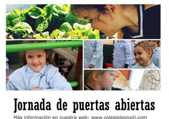Jornada de puertas abiertas en el colegio León XIII de Málaga