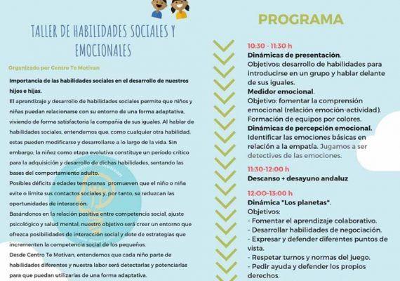 Escape room social para niños y taller de autoestima para mujeres en Te Motivan Málaga