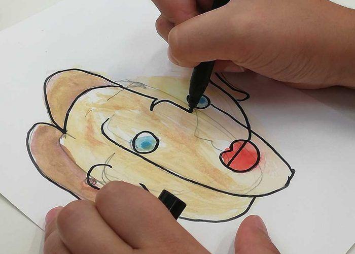 Talleres gratis para niños durante la Semana Blanca en el Centre Pompidou de Málaga
