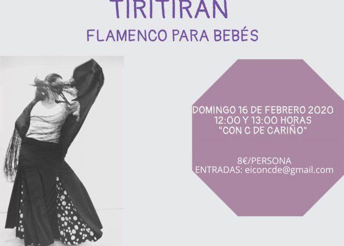 Taller de flamenco para bebés con EM3 Educación Musical en la escuela 'Con C de cariño'