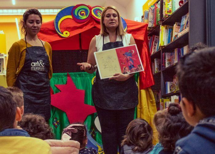 Taller infantil con teatro de guiñoles en Málaga: 'Conoce a Rafael Pérez Estrada'