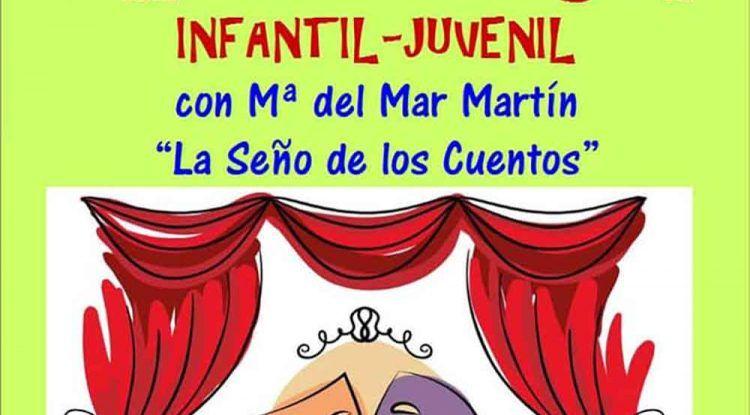 Prueba gratis el taller de teatro infantil juvenil en Rincón de la Victoria con La seño de los cuentos.