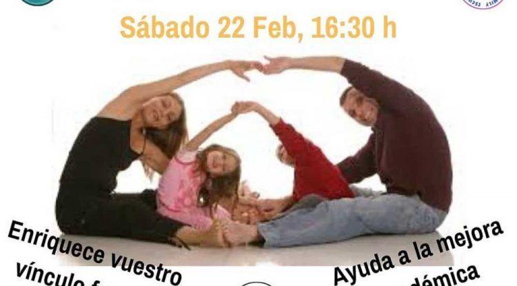 Taller de yoga para toda la familia con Suryana en Málaga