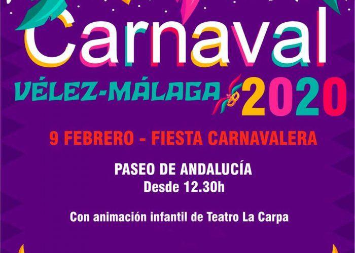 Actividades gratis para niños en el Carnaval de Vélez-Málaga