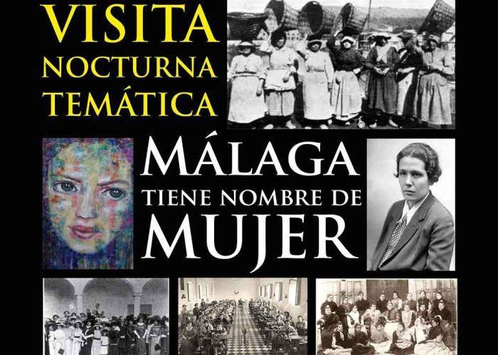 Visita nocturna sobre la mujer para toda la familia en el Jardín Botánico de Málaga