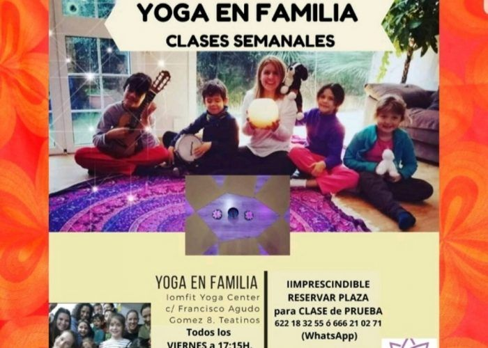 Yoga para toda la familia en Teatinos (Málaga)